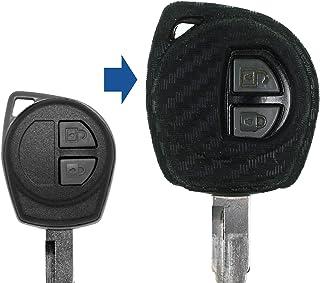 DishyKooker Coque de cl/é Pliante /à 2 Boutons pour Suzuki Jim-NY SX4 Swift