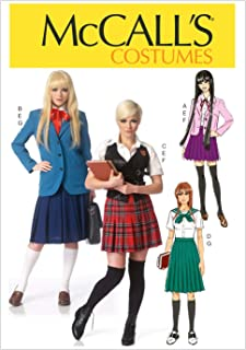 McCall's Pattern M7141 A5 Blazers, Vest, Sailor Blouse and Pleated Skirt, Size 6-14 (7141)