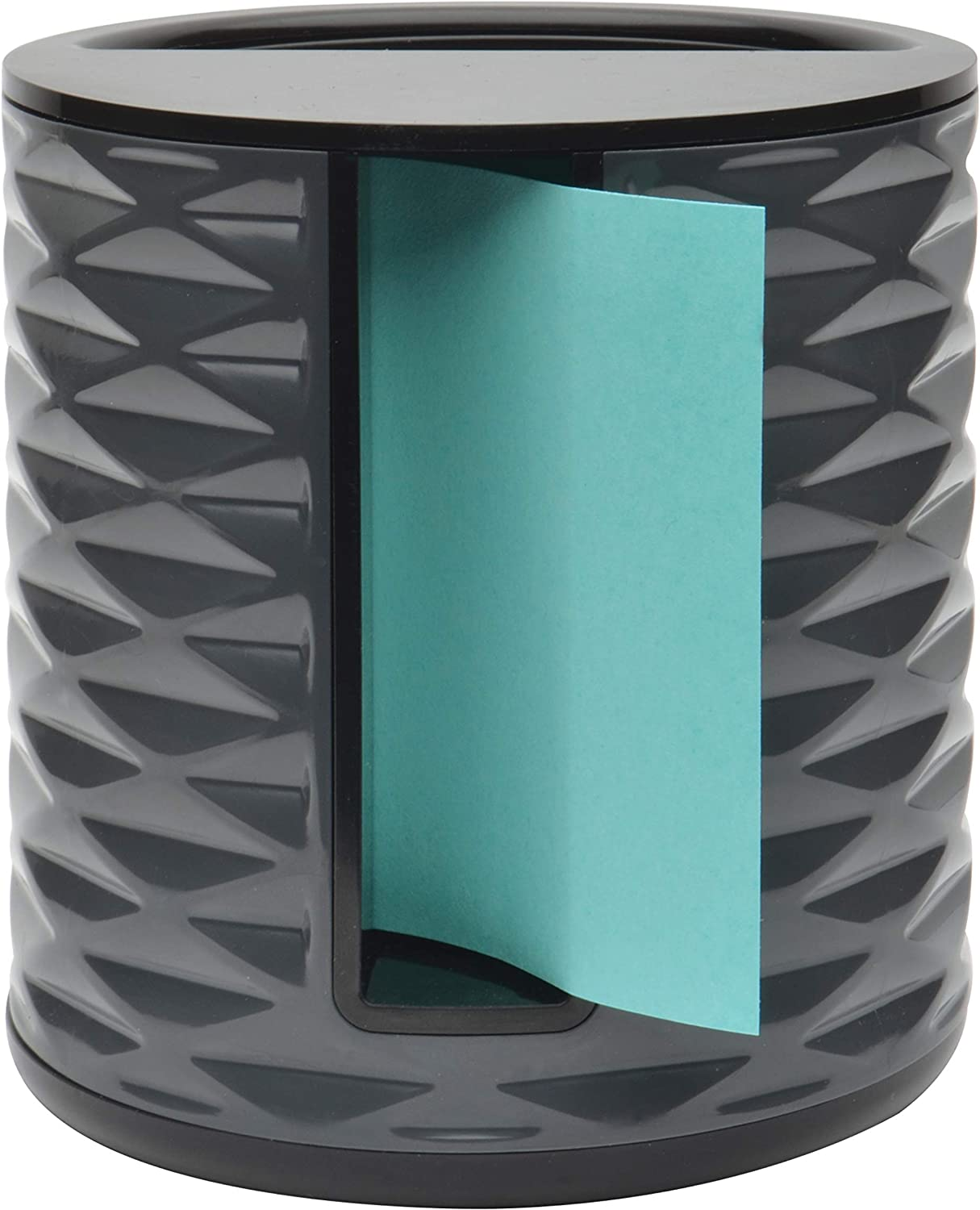 Post-it Note Dispenser Vertical - New Black with Grey ABS-330-B 3x3 in