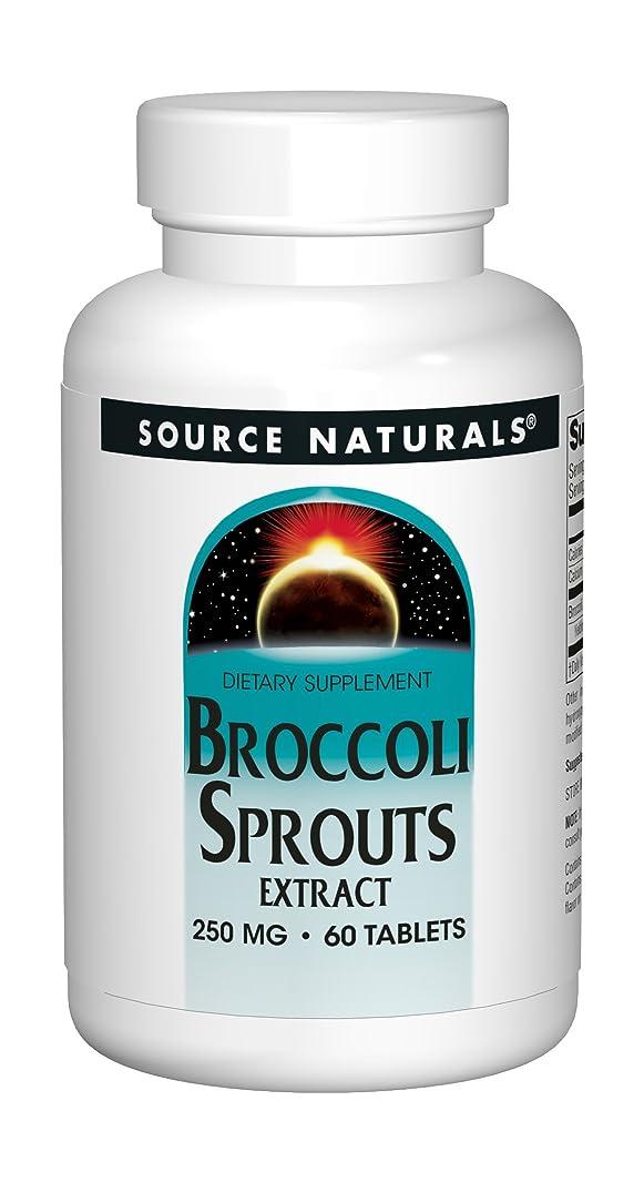 農奴高速道路詐欺Source Naturals Broccoli Sprouts (60T)ブロッコリー?スプラウト《ブロッコリーの新芽》~海外直送品~