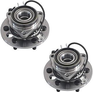 Detroit Axle - 4WD 6-Lug Complete Front Bearings & Hub...