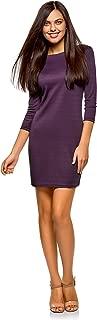 Mujer Vestido con Decoración Metálica en Hombros