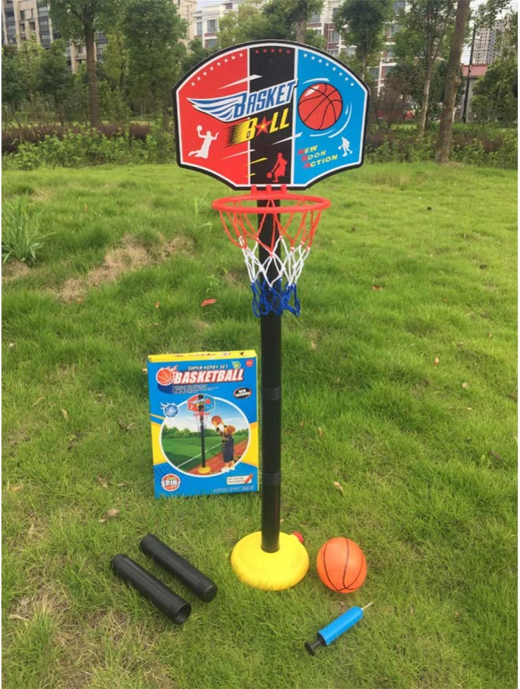 NUOBESTY Basketball Hoop Stand Set Adjustable Basketball Toy Gam