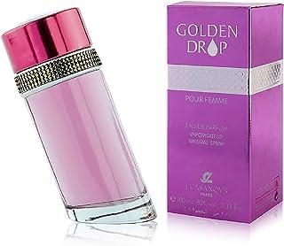 Golden Drop Parfum for Women by J.casanova , Eau de Parfum , 100ml