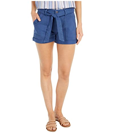 Lucky Brand Mid-Rise Cargo Shorts (China Blue) Women