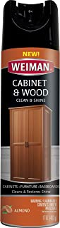 Weiman 596 Cabinet & Furniture Polish-17 Ounce-Aerosol Protect Clean Polish Wax Your Wood Tables Chairs Cabinets