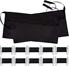 black 3 pocket waist apron