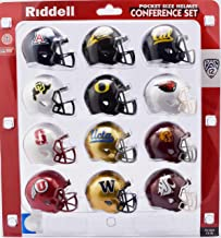 Riddell NCAA Pocket Pro Helmets, PAC 12 Conference Set, (2018) New