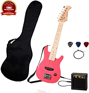 Stedman Kid Series Electric Guitar Pack with 5-Watt Amp, Gig Bag, Strap