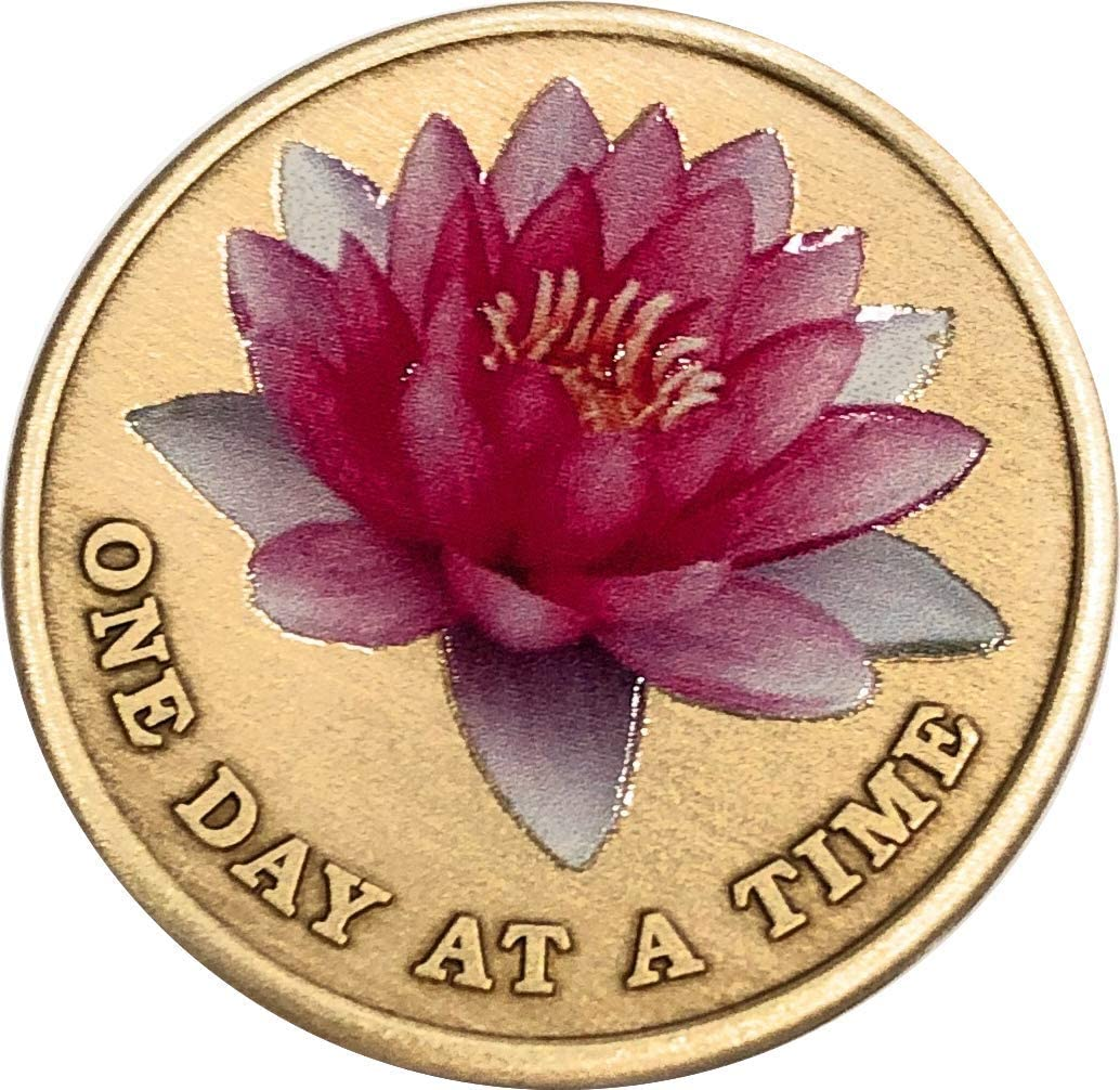 Pink Lotus Flower One Day at Prayer Time Cheap bargain A Serenity Fashion Ch Medallion