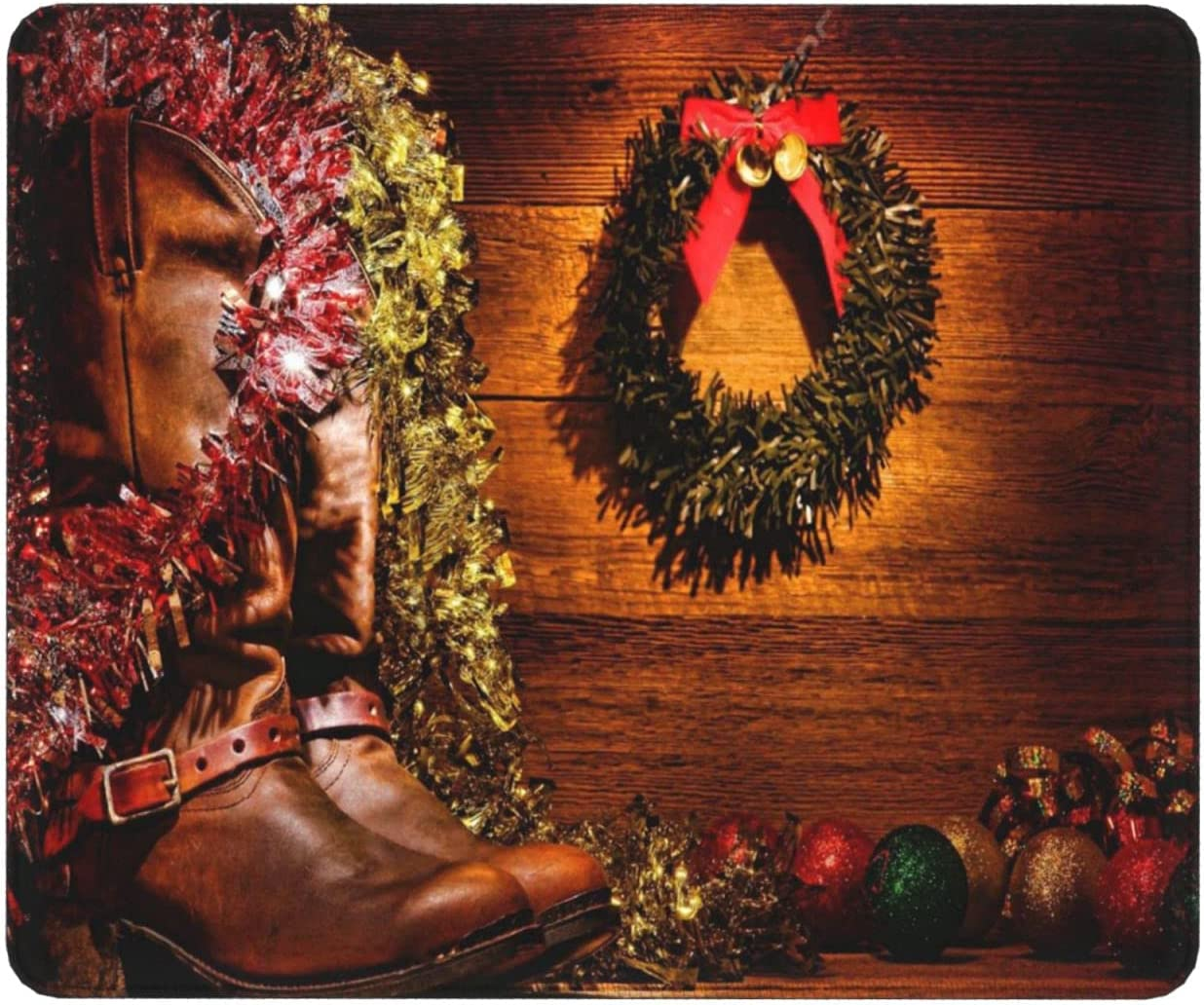 Max 40% OFF Country Design with 67% OFF of fixed price Cowboy Boots Decorations Christmas Vi in and
