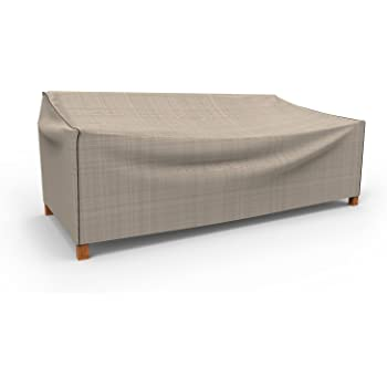 Budge P3W04PM1 English Garden Patio Sofa Cover Heavy Duty and Waterproof, Large, Two-Tone Tan