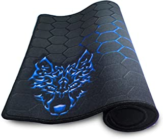 mouse pad for games of thick rubber Steelseries, half a meter, Blue