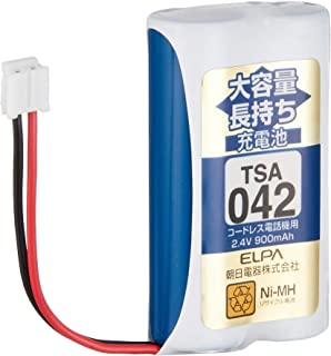 ELPA エルパ 子機用 大容量長持ち充電池 TSA-042