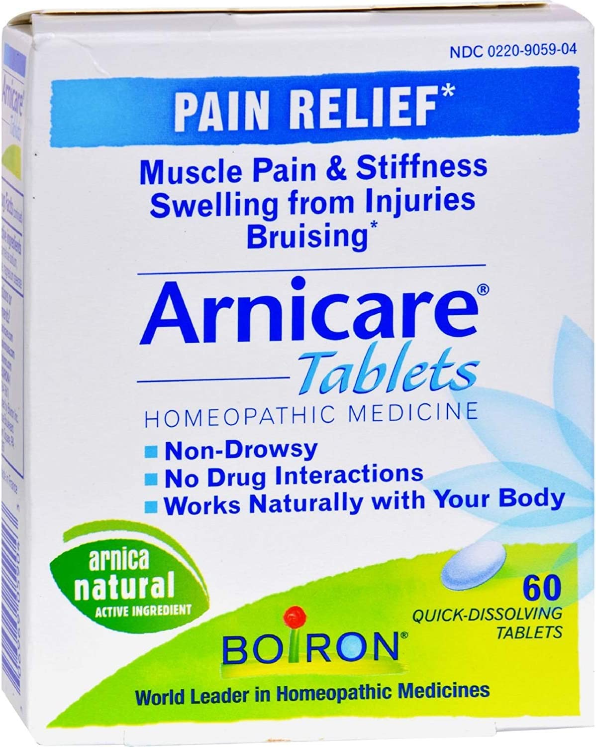 Max 75% OFF Boiron - Arnicare Pain 60 Bargain Relief Tablets Multi-Pack
