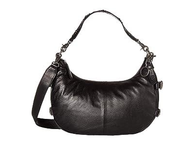 FRYE AND CO. Sindy Hobo (Black) Handbags