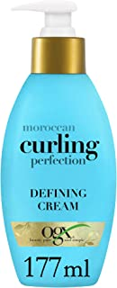 OGX, Hair Cream, Moroccan Curling Perfection Defining Cream, 177ml