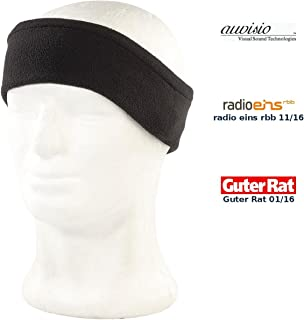 auvisio Schlafkopfhörer: Schlaf Headset &  Kopfhörer Sleep HS.BT mit Bluetooth 4.0 (Schlafstirnband), schwarz