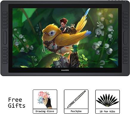 Huion KAMVAS GT-221 Pro Tabletas de dibujo HD de 21.5 pulgadas con pantalla Gráficos digitales Pantalla de lápiz con 8192 Presión de lápiz y 10 teclas de acceso directo