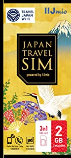 Japan Travel SIM 2GB(Type D) IM-B250