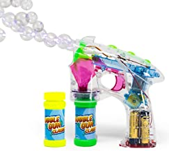 Bubble Gun Blower for Kids 2.0 – Classic (Boys & Girls) | Toy Blaster + 2X Soap..
