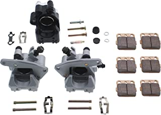 TRX400 EX Fourtrax 1999 2000 Cyleto Front And Rear Brake Pads For Honda TRX400X TRX 400X 2009-2014 TRX400EX TRX 400EX Sportrax 400 2001-2008