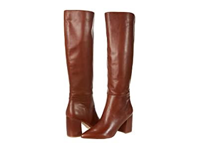 Steve Madden Nilly Boot (Cognac Leather) Women