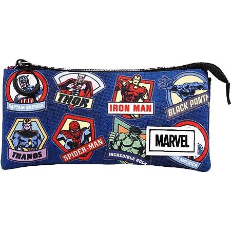Marvel Colour-Estuche Portatodo Triple HS