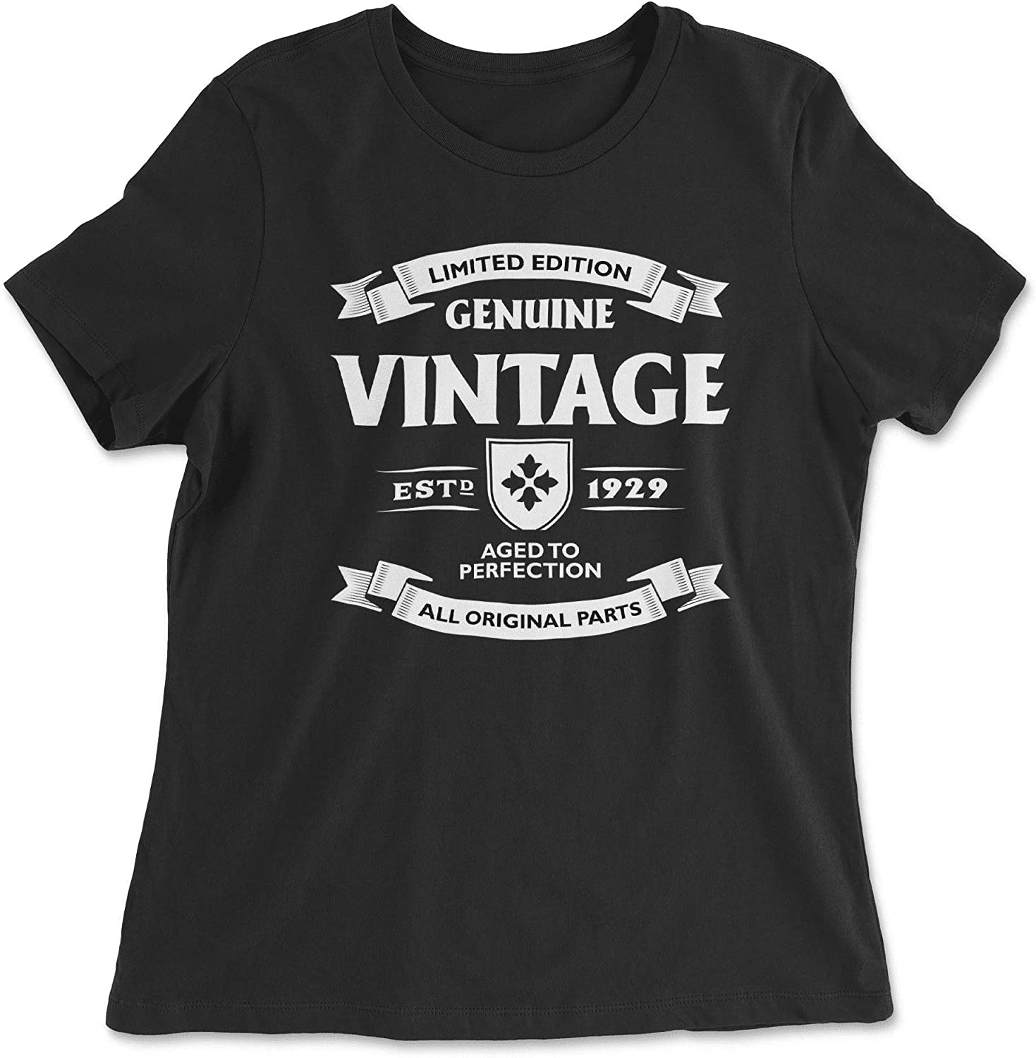 HARD EDGE DESIGN Women's Aged to Perfection - 1929 T-Shirt