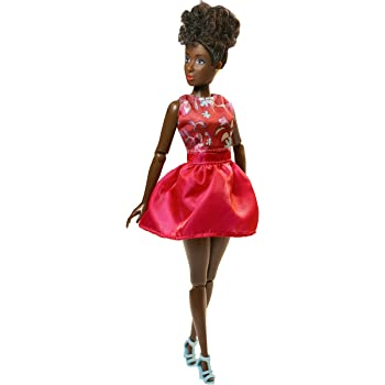 "Mia African American Fashion Doll Natural Hair Posable 12/"" Fresh Dolls"