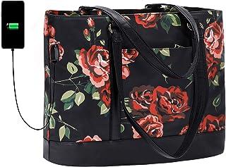 BLUBOON Women Laptop Tote bag work bag handbag fit 15.6' laptop