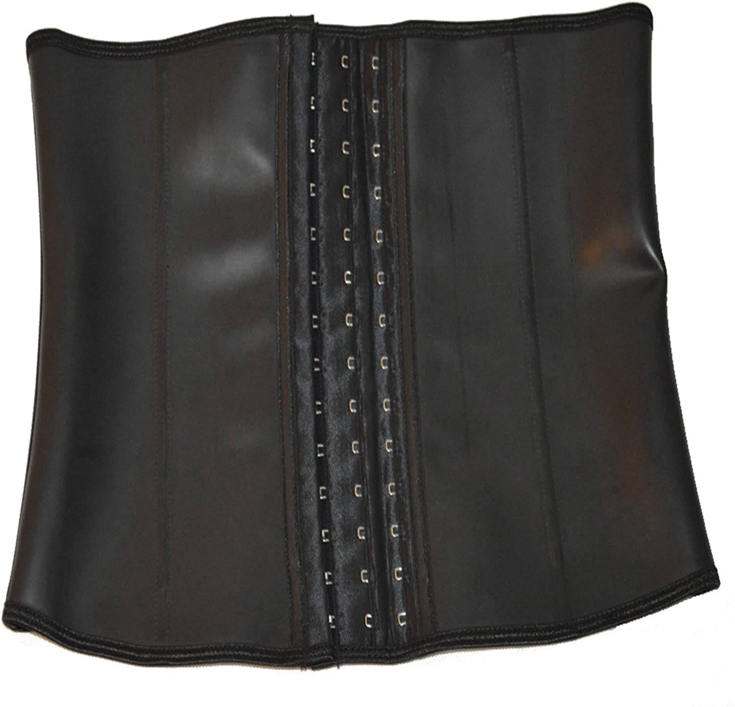 Queenral Steel Free Outlet SALE shipping anywhere in the nation Boned Male Slim Latex Waist Corsets Belt Trainer