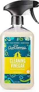 Aunt Fannie's All Purpose Cleaning Vinegar 16.9 Ounces; Multipurpose Surface Spray Cleaner (Bright Lemon)