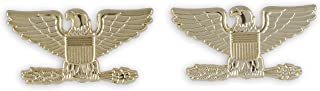Police Fire EMS Army Collar Brass Pins Insignia Emblem Badges (Assorted Styles)