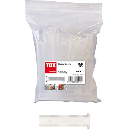 TOX tamis Liquix Sleeve, 20 pièces, 08460074 16 X 130 mm