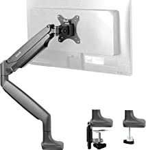 VIVO Premium Aluminum Height Adjustable Single Monitor Articulating Desk Mount Stand w/Gas Spring Arm Fits up to 32