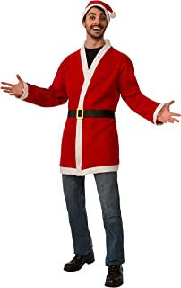 Men's Clausplay Santa Jacket with Belt and Hat