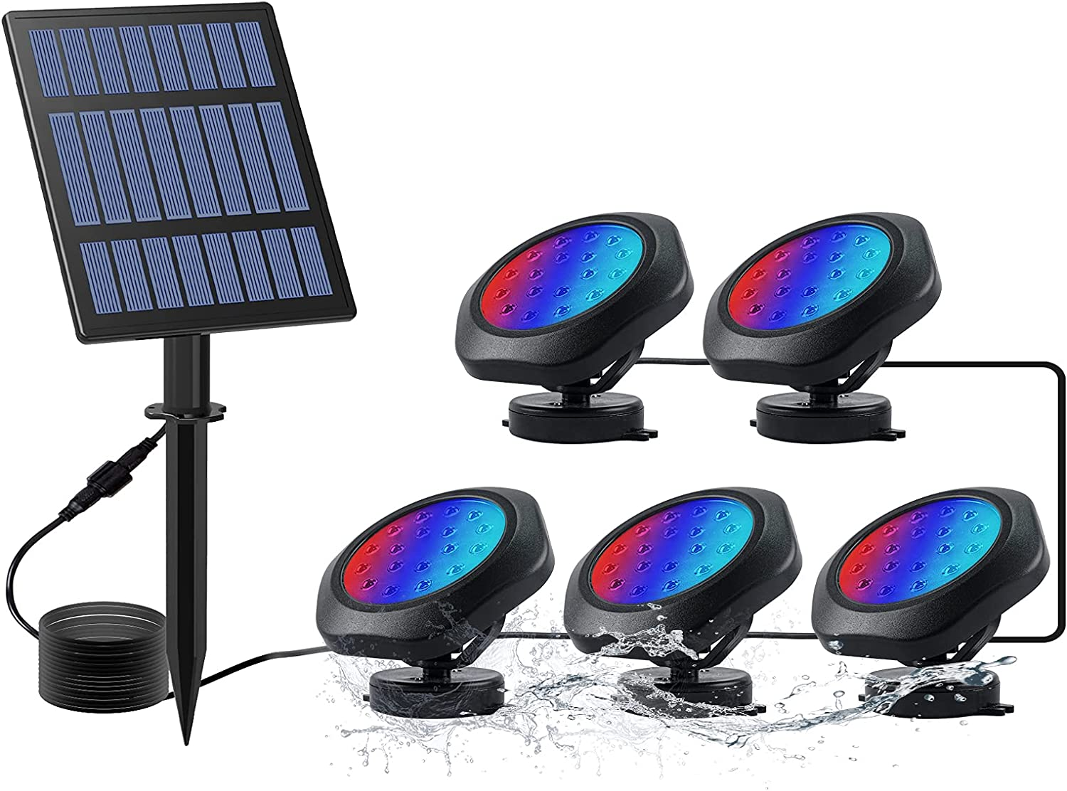 CORESLUX Solar Pond Lights excellence Limited time sale Underwater Ligh Waterproof IP68