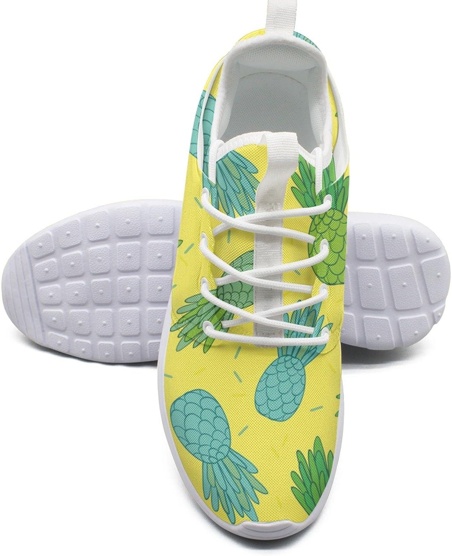 ERSER bluee Green Pineapples Doodle Minimalist Running shoes Women Road