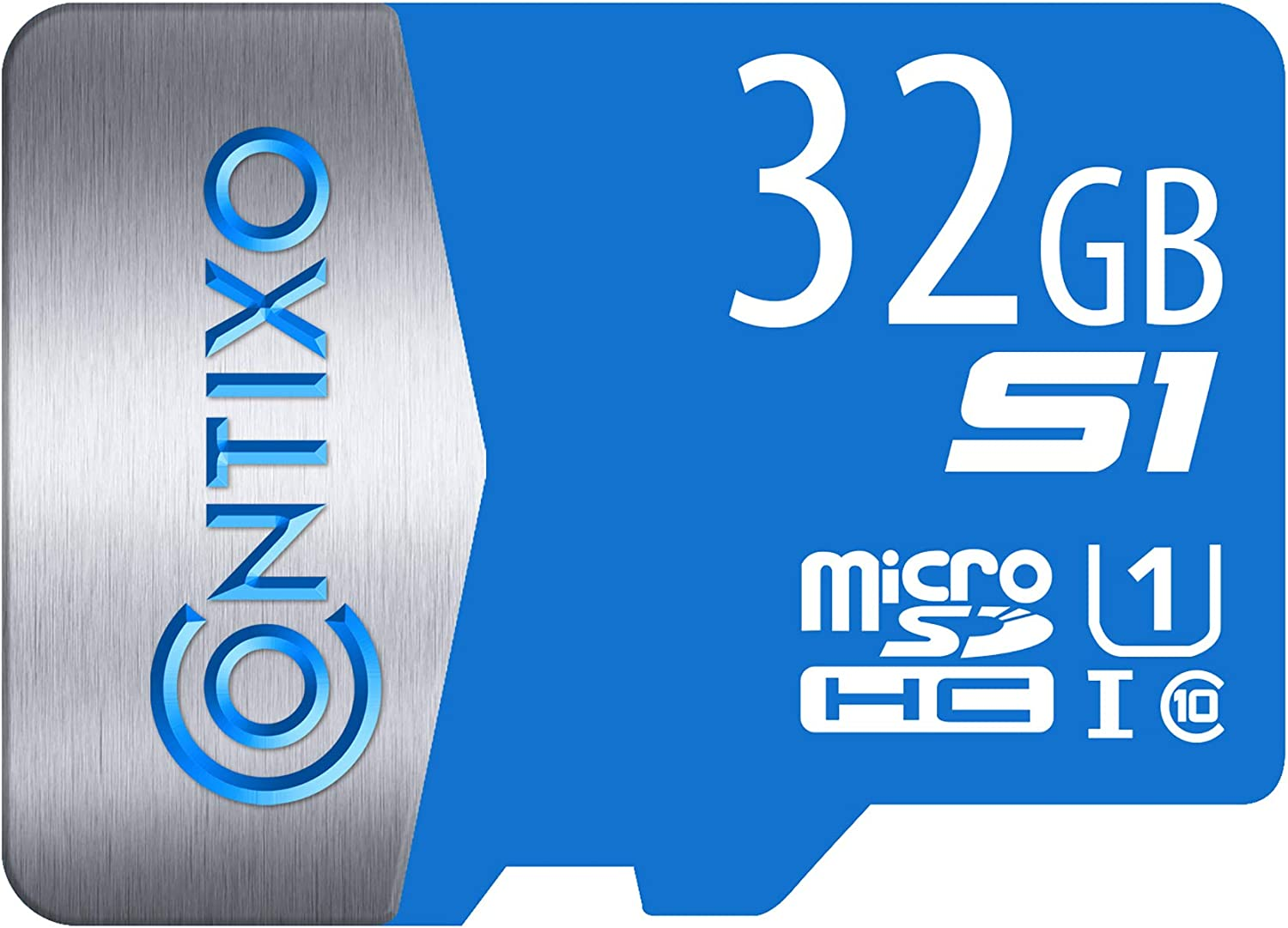 Contixo 32GB Micro SD Memory Card - Compatible with Cell Phone, Tablet, Drones, Headphone, Camera, SD Memory Card Up to 95MB/s