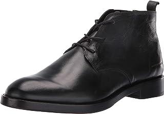 حذاء سافوي من الجلد مغلق عند الأصابع حتى الكاحل من مارك ناسون