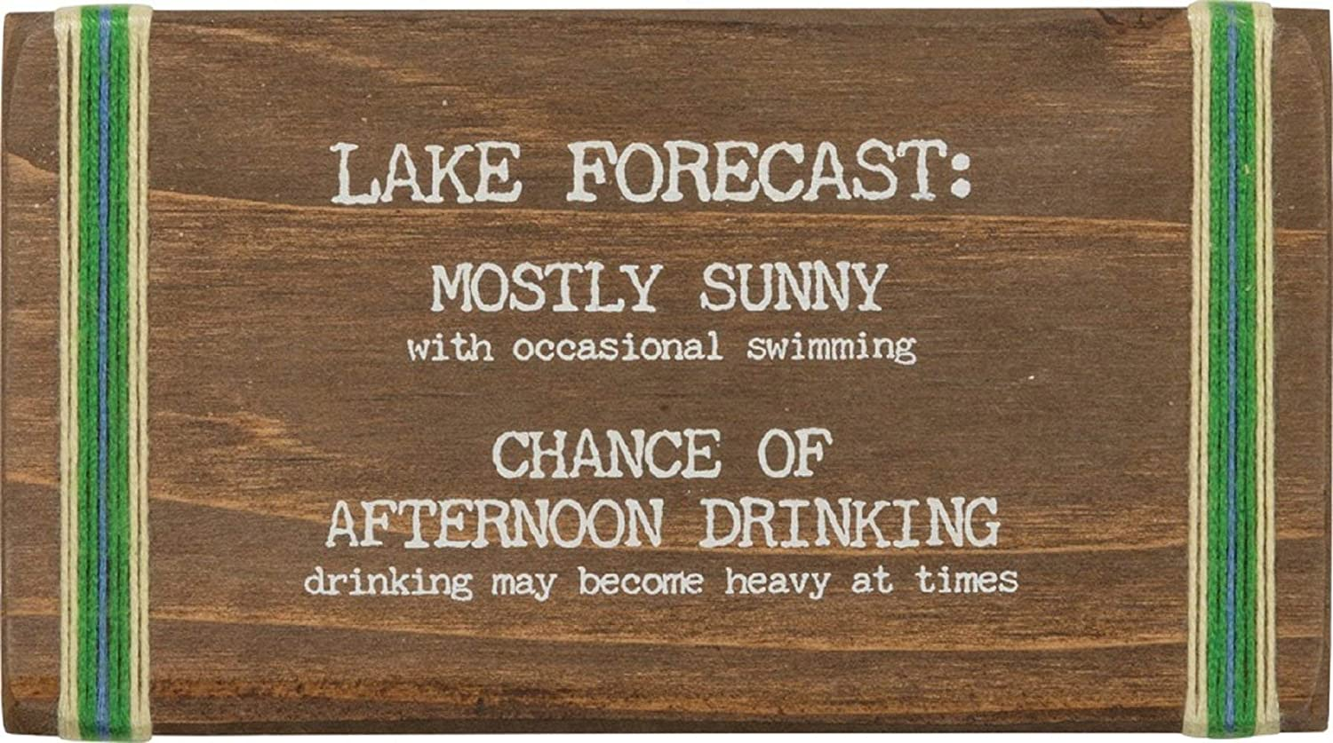 Primitives By In Outstanding stock Kathy Stitched Block Sunny Forecast Lake Mostly
