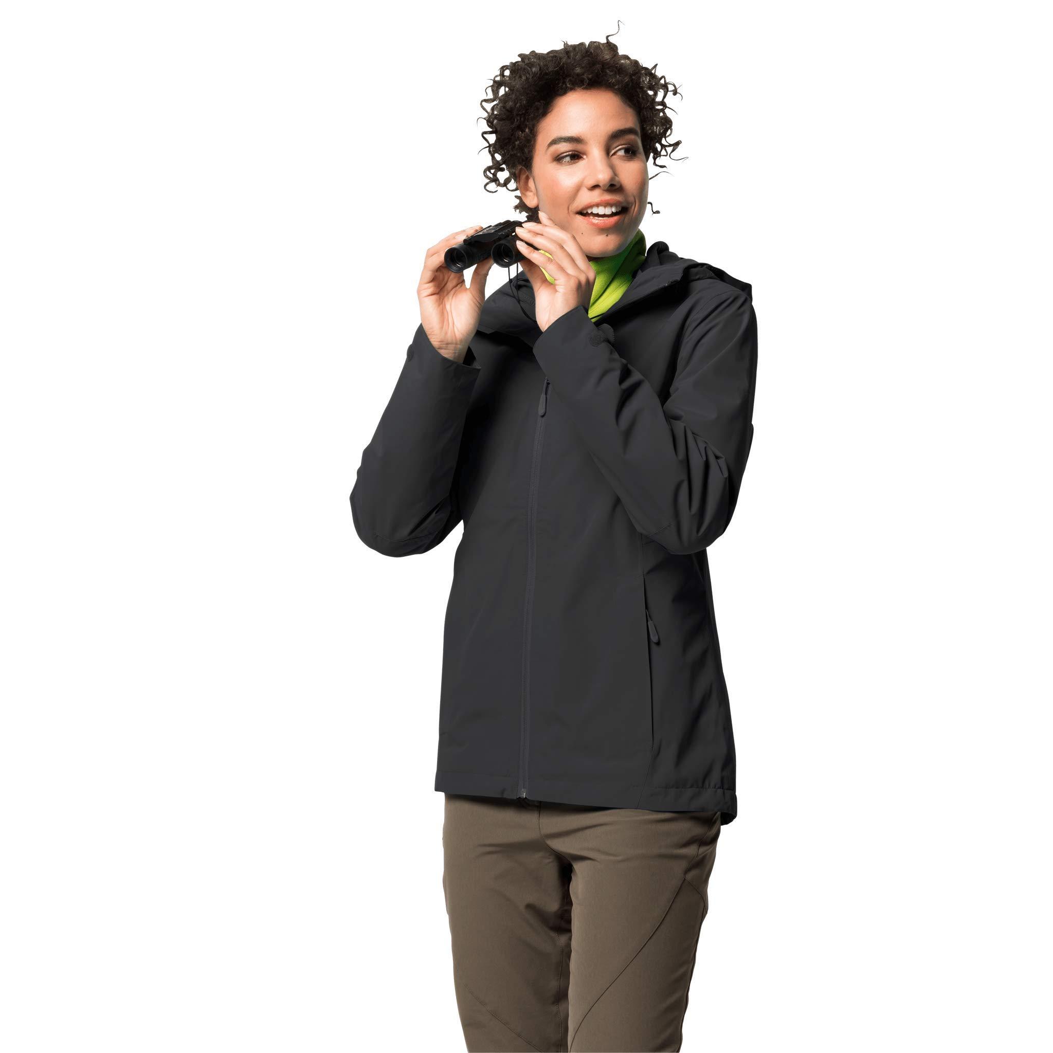 Jack Wolfskin Damen Norrland 3in1 W Damen Jacke, schwarz, 5 EU