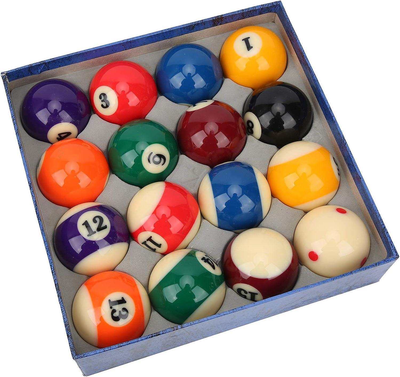 Pool Balls Set Complete National products 16pcs Ba Regulation Billiard discount 2.24