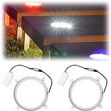 SPORT BEATS Cornhole Lights 3 Colors Switchable Cornhole Ring Led Lights for Hole and Board Led Cornhole Board Lights for ...