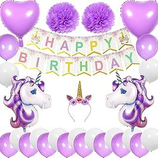 d788f8f27d9d Amazon.es: fiesta de primer cumpleaños - Morado