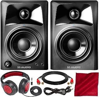 M-Audio AV32 10-Watt Compact Studio Monitor Speakers with 3