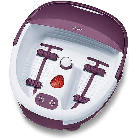Beurer FB 21 bain de pieds, balnéothérapie avec réflexologie des pieds, embouts de pédicure et lumière infrarouge