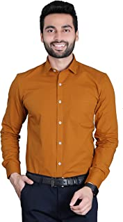 FifthAnfold Men Solid Full Sleev Formal Shirt