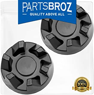 9704230 Blender Drive Coupling Replacement Part for KitchenAid Blenders by PartsBroz - Replaces Part Numbers WP9704230, AP6013694, PS11746921, WP9704230VP (Pack of 2)